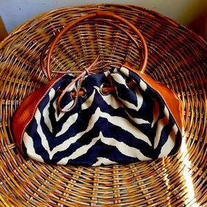 Kate Spade Zebra print and leather bag